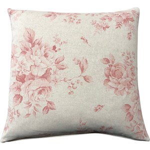 Dorothy Rose Coral Cushion