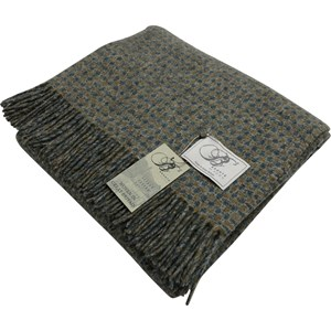 Bronte by Moon Croft Sorrel Throw