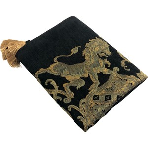 Black Lion Throw